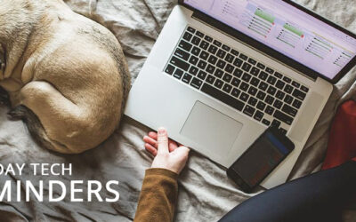 Holiday Tech Reminders for Working from Home (BONUS: gift ideas!)