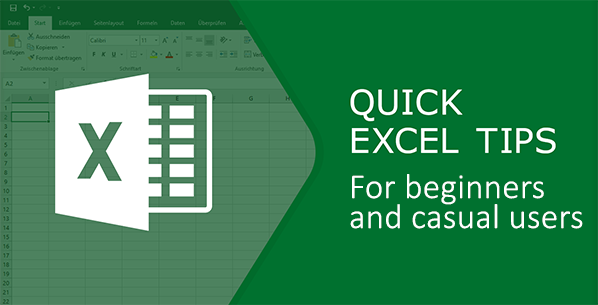 Excel Tips for Beginners and Casual Users (with screenshots)